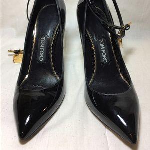 Tom Ford Padlock Patent Stilettos